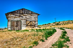 Abandoned barn in Route 66 Stock Image