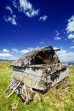 Abandoned barn in ruins Royalty Free Stock Image