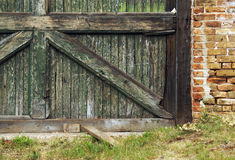 Abandoned Barn Wall Stock Photos