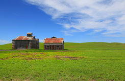 Abandoned barns Royalty Free Stock Images