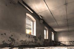 Abandoned barrack Royalty Free Stock Photo
