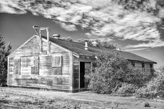 Abandoned Barracks at Fort Ord Royalty Free Stock Photos