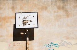 abandoned basketball court Стоковое фото RF