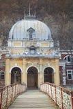 Abandoned bath house Stock Images