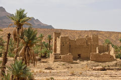 Abandoned berber village in Morocco Royalty Free Stock Photography