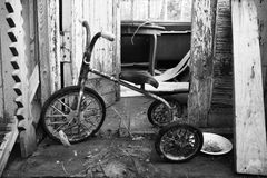 Abandoned bicycle Royalty Free Stock Images