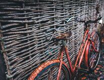 Abandoned Bicycle Royalty Free Stock Photos