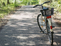 Abandoned bicycle Stock Photo
