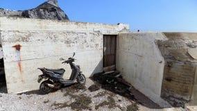 Abandoned bike Royalty Free Stock Image