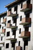 Abandoned blocks of flats. Color image of some abandoned blocks of flats Stock Photography
