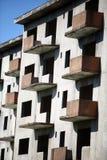 Abandoned blocks of flats Stock Photography