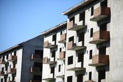 Abandoned blocks of flats Royalty Free Stock Photos