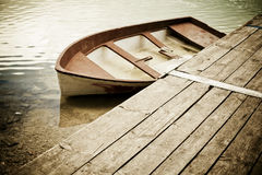Abandoned boat Stock Photography
