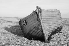 Abandoned boat Stock Photo