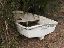Abandoned Boat, Huon Valley, Tasmania Stock Image