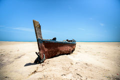 Abandoned Boat stock images