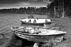 Abandoned Boats Royalty Free Stock Photography