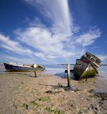 Abandoned Boats Royalty Free Stock Photo