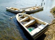 Abandoned boats Royalty Free Stock Image