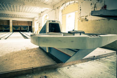 Abandoned Bowling Alley Royalty Free Stock Image