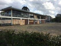 Abandoned Bowling Club Stock Image