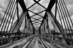 Abandoned Bridge Royalty Free Stock Photography