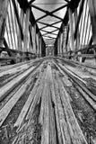 Abandoned Bridge Stock Images