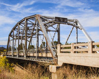 Abandoned Bridge Rt 66 Winona, AZ Royalty Free Stock Photography