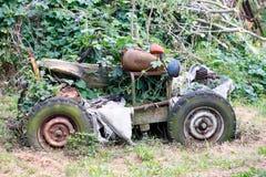 Abandoned bizarre vehicle Stock Photo