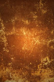 Abandoned brown  antique wall. Royalty Free Stock Photography