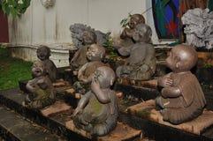 Abandoned Buddha statue Royalty Free Stock Image