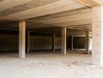Abandoned buidling site - economic downturn symbol, metaphor Royalty Free Stock Photos