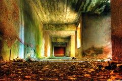 Abandoned building. High Dynamic Range Image of an Abandoned building Royalty Free Stock Images