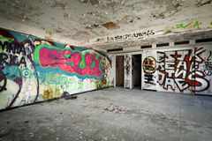 Abandoned building Stock Photos
