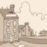 abandoned building Ελεύθερη απεικόνιση δικαιώματος
