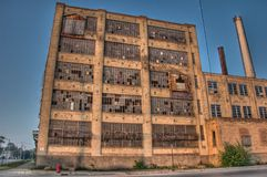 Free Abandoned Building Royalty Free Stock Photos - 43296258