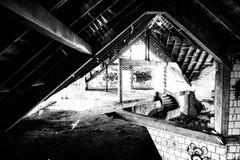 abandoned building Στοκ Φωτογραφίες