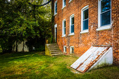 Abandoned building in Bairs, Pennsylvania. Royalty Free Stock Photography