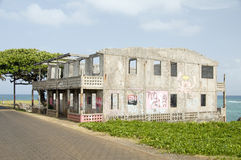 Abandoned building Corn Island Nicaragua Royalty Free Stock Image