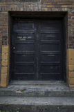 Abandoned Building Door royalty free stock photography