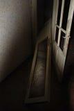 Abandoned Building Doors royalty free stock photos