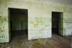 Abandoned Building Entryway royalty free stock images