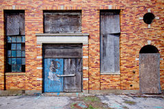 Abandoned building exterior Stock Image