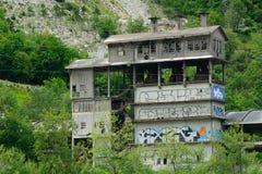 Abandoned building, France Stock Photo