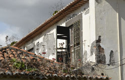 Abandoned building in Funchal, Madeira, Portugal Stock Photos