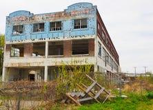 Abandoned building in Ganaroque Canadan stock photography