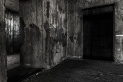 Free Abandoned Building Ghost Living Place With Two Doors Stock Photo - 69766620