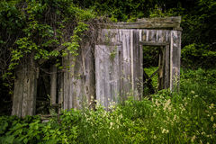 Abandoned Building In Ghost Town Royalty Free Stock Image