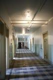 Abandoned building hallway Royalty Free Stock Photo