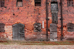 Abandoned building in the heart of the city.  Stock Images